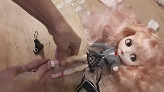 . Обзор посылки с Алиэкспресс. Одежда для кукол Блайз и Барби с Китая.