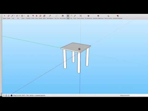 DIY woodworking India - How to use sketchup for woodworking design