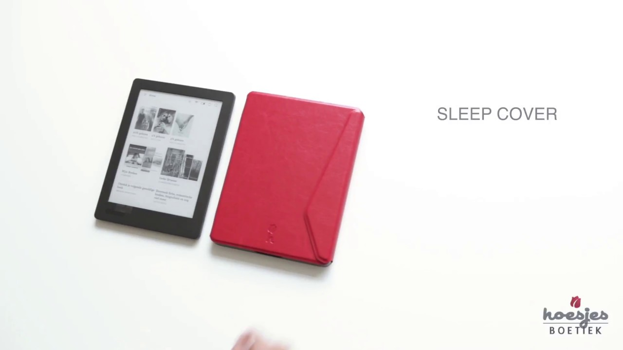 Hoesjes boetiek kobo aura h2o edition 2 sleep cover youtube for Housse kobo aura h2o edition 2