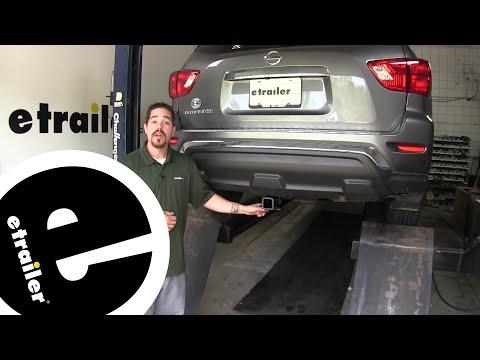 Etrailer | Curt Trailer Hitch Installation - 2018 Nissan Pathfinder