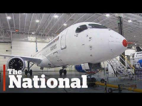 Bombardier CSeries jets hit by 220% U.S. duty
