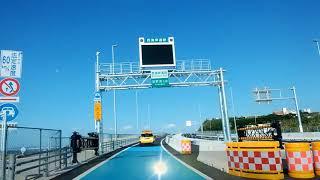 沖縄西海岸道路 開通①一般車両通行開始/臨港道路浦添線及び浦添北道路