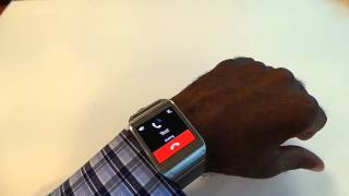 How to make phone calls with Samsung Galaxy Gear