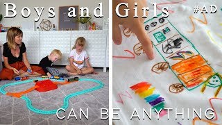 AD| BOYS AND GIRLS CAN BE ANYTHING (THOMAS & FRIENDS, GENDER EQUALITY AND THE UN)