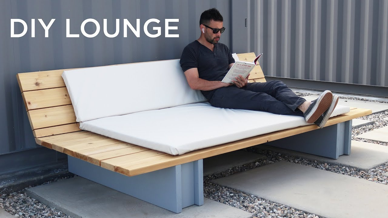 - DIY Outdoor Lounge Sofa - YouTube