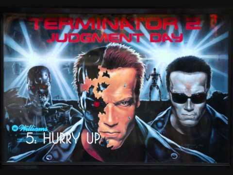 Terminator 2 Judgement Day pinball music - YouTube