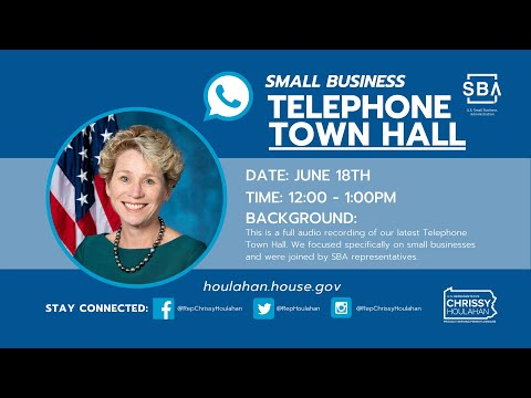 06.18.2020 Small Business Telephone Town Hall