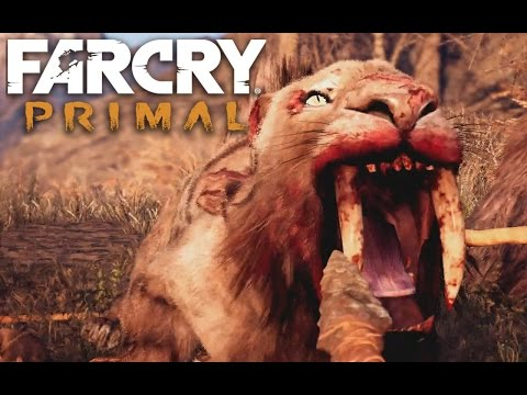 Far Cry Primal Bloodfang Sabertooth Hunt / Boss Fight