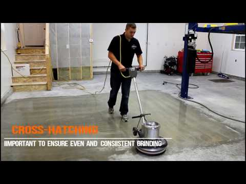 How To Diamond Grind A Concrete Floor