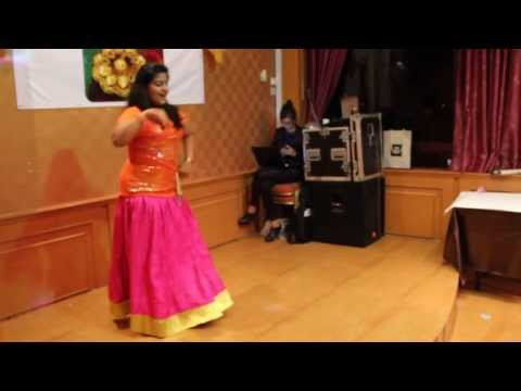 A dance performance on Ghagra ( yeh jawaani hain...