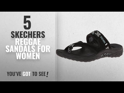 Top 5 Skechers Reggae Sandals For Women [2018]: Skechers Women's Reggae Trailway Flip Flop,