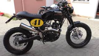 Tracker 125 Ccm Neu Youtube