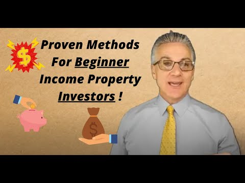 Income Properties For Beginners!