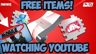 How To Link Your Epic Games Account To YouTube Mobile | Fortnite FREE Rewards!