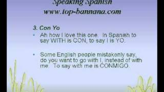 Speaking Spanish - 7 Words Everyone Ought To Learn and Use With Caution