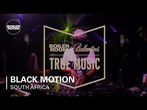 Black Motion Boiler Room and Ballantine's True Music South Africa