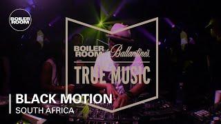 Black Motion Boiler Room and Ballantine