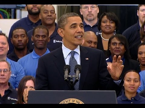 President Obama Speaks on Manufacturing