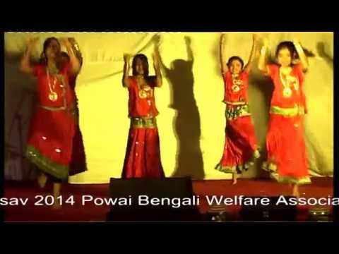 The Little MerryMakers || Tanusree Shankar Dance Academy (TSDA) Students || PBWA || (2014)