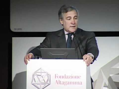 Speech by Antonio Tajani, Vice president of the European Commission
