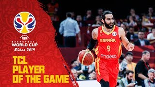 Ricky Rubio | Argentina v Spain | TCL Player of the Game - FIBA Basketball World Cup 2019