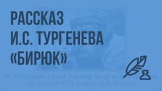Рассказ И.С. Тургенева «Бирюк». Видеоурок по литературе 7 класс