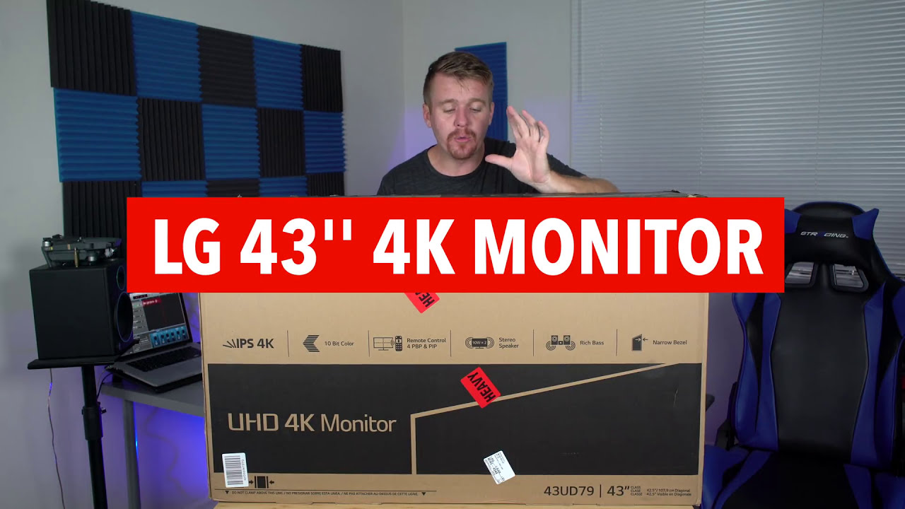 Lg 43inch 4k Monitor Open Box/Review  Patrick Wieland 03:14 HD