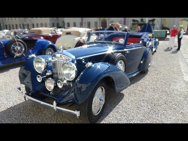 1938 Bentley 4.25L Coupe Cabriolet - Ext. Interior - Retro Classics meets Barock Ludwigsburg 2018