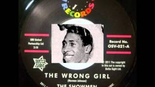SHOWMEN - THE WRONG GIRL / FATE PLANNED IT THIS WAY - MINIT 643 - 1/62