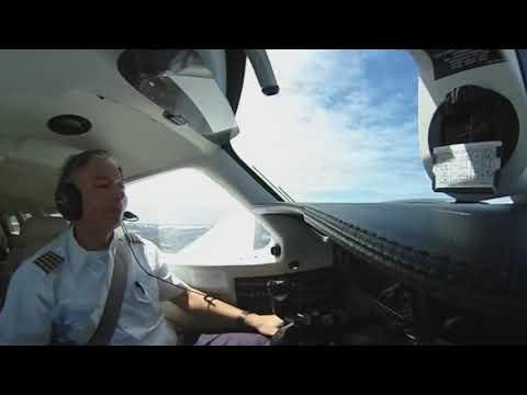 Take off - Meridian Piper - Fortaleza - 360 video