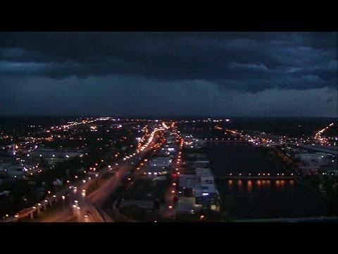 Storm over Grand Rapids