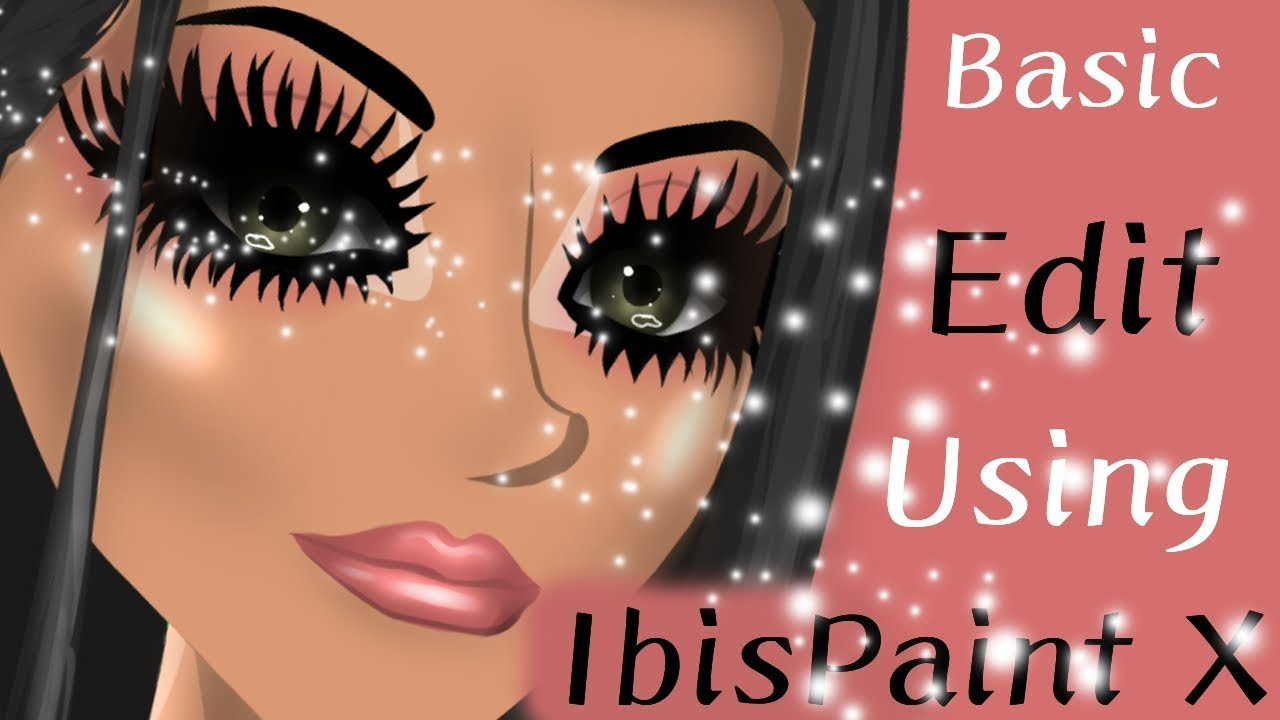 Download How to make a basic edit using IbisPaint X // Msp Version