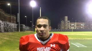 2011 Maryland Crab Bowl Powered by Under Armour :DJ Kee (Stephen Decatur) Interview