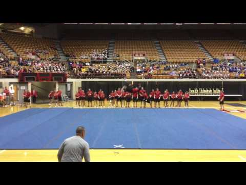 Ohio State Cheerleaders Performance at 27th annual OSU Cheer/ Dance Competition