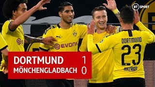 Dortmund vs Mönchengladbach (1-0) | Bundesliga Highlights