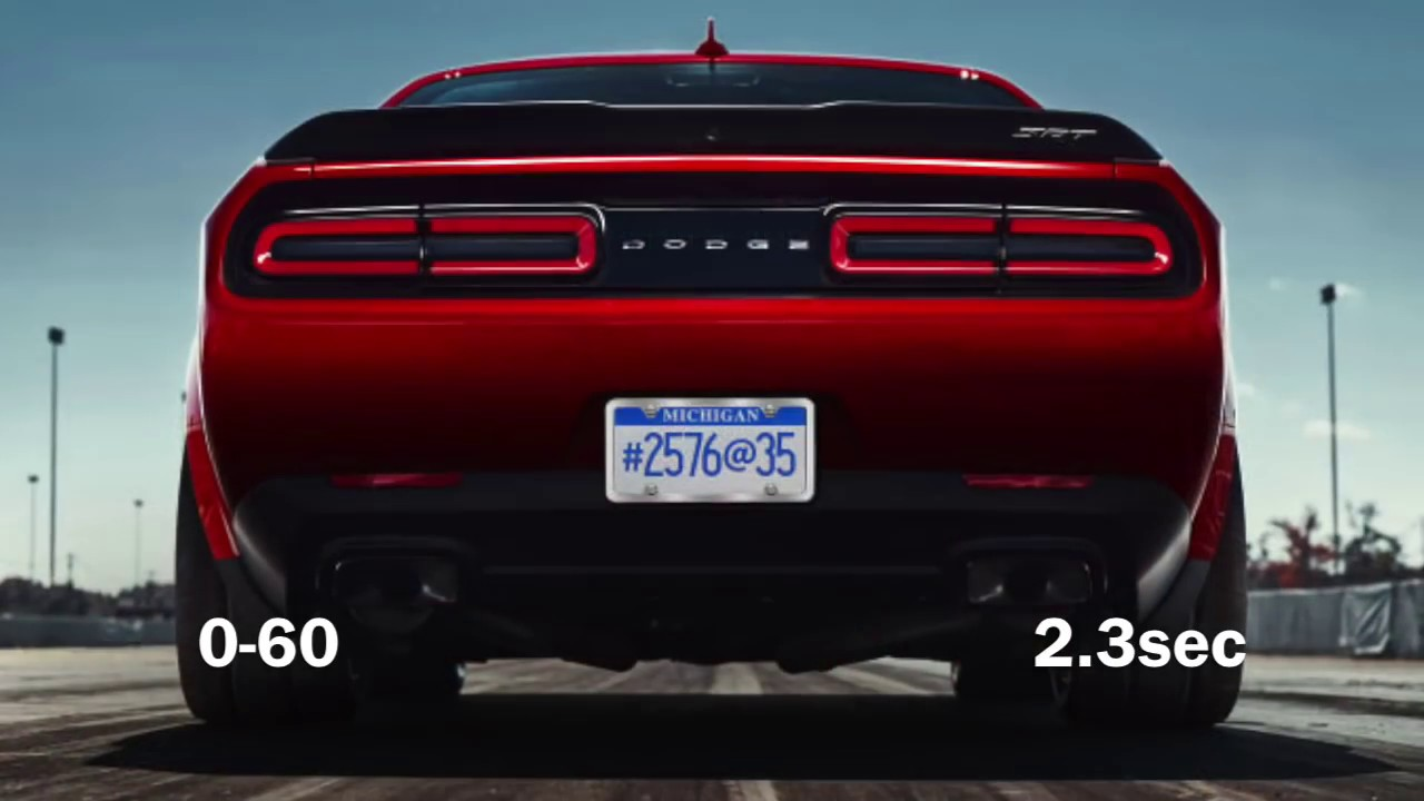 2018 Dodge Demon Top Speed 0 60 Vs 2017 Tesla Model S P100d Youtube