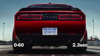 2018 Dodge Demon: Top Speed, 0-60 VS 2017 Tesla Model S P100D