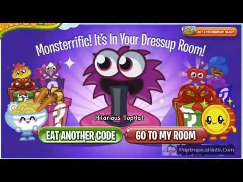 ♥ Moshi Monsters Secret Codes April 2013 Video ♥