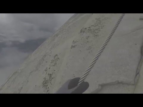 HALF DOME SUMMIT!!!!  Ascending and Descending the cables 6/11/15