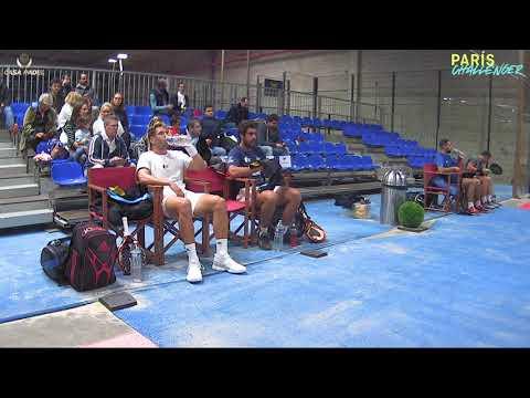 WPT PARIS CHALLENGER 2019 - Finale messieurs - Capra / Campagnolo vs Pineiro / Ruiz