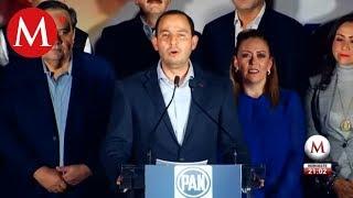 Marko Cortés llama a unidad tras ganar elección del PAN