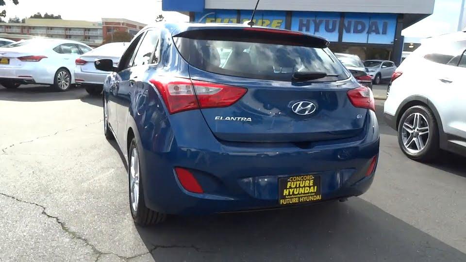 2015 Hyundai Elantra GT Walnut Creek, East Bay, Dublin, Concord, Livermore,  CA R7881. Future Ford Hyundai