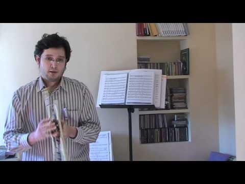 Juanjo Molina clases trompeta por Skype Notas posición natural 1era octava trompeta