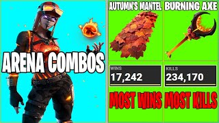 10 SWEATY COMBOS... BUT I FIND THEM IN ARENA SOLOS! (YOU MUST BUY THESE COMBOS!)