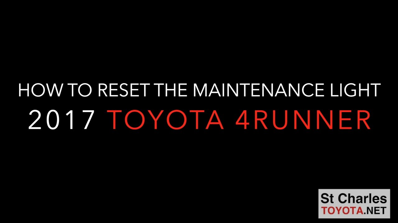 Flashing Tire Pressure Light Toyota 4runner