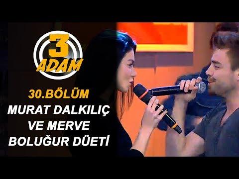 Murat Dalkılıç ve Eşi Merve Boluğur Birlikte Şarkı Söylediler | 3 Adam