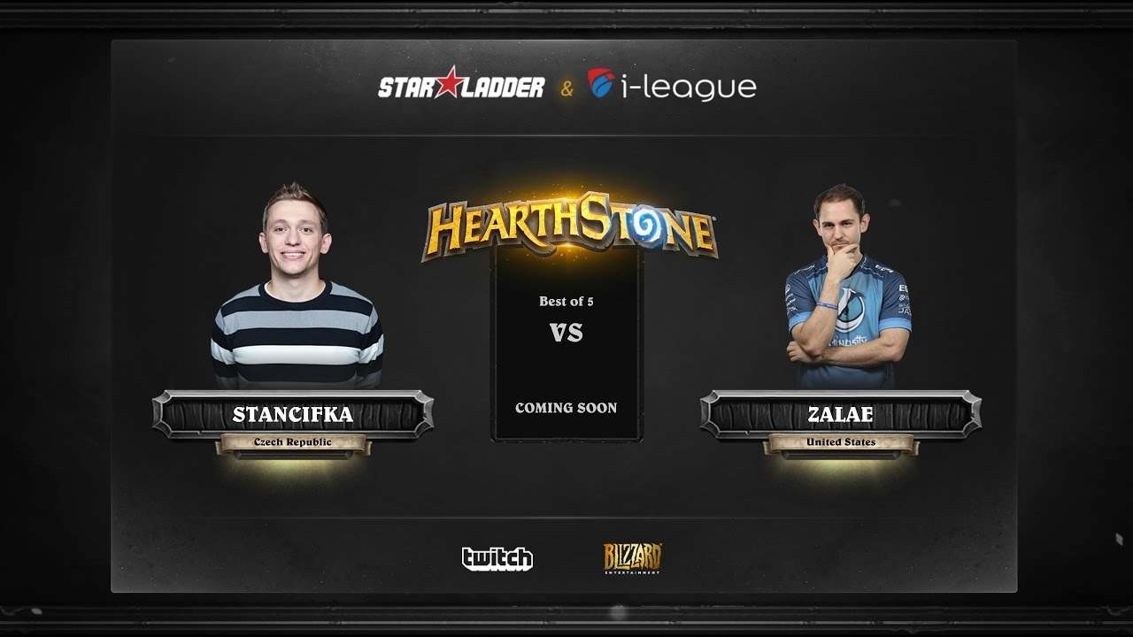 [EN] Stancifka vs Zalae | SL i-League Hearthstone StarSeries Season 3 (16.05.2017)