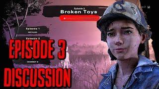 """DISCUSSING The Walking Dead:Season 4: """"The Final Season"""" Episode 3 """"Broken Toys"""" (TWD S4)"""