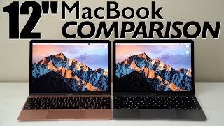 "2015 vs. 2017 12"" MacBook with Retina display"