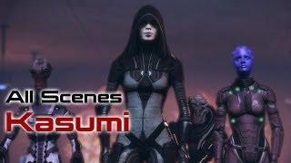Kasumi Scenes (Mass Effect 3 Citadel DLC)